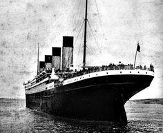 The Titanic 100 years ago