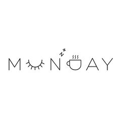 morning coffee quotes, monday feel, graphic words, coffee words, monday quote, monday morning quotes, happy monday, monday morning inspiration, typography feeling
