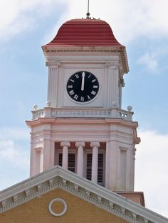 Historic Blount County Courthouse Clock Tower - Maryville, TN