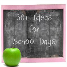 30+ ideas for back to school -- Reading, Crafts, Games, getting ready at home, and tips from the 'experts'.