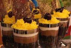 Receita de Taça Degradê de Chocolate