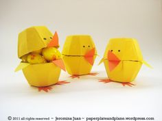 Repurpose those egg cartons to make these cute candy-filled chicks.