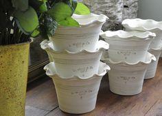 I love Guy Wolff flower pots