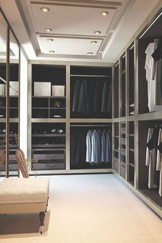 35 Masculine Closets  Dressing Rooms - Style Estate -