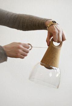 SIREN ELISE WILHELMSEN / WORK This designer, something else.  Recharging light--free from power