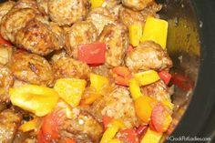Crock-Pot Hawaiian Meatballs