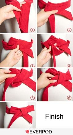 jacket, autumn, bow ties, ribbon, belt, bows, people, make a bow, tie a bow
