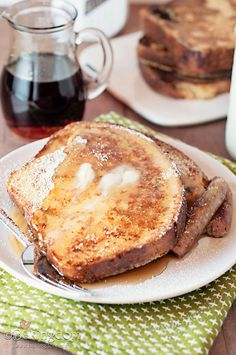 cinnamon swirl french toast.  Tomorrow's breakfast. Yum!