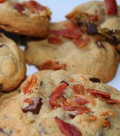 Bacon Chocolate Chip Cookies