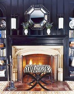 sadie + stella: Monday Musings: The Fireplace
