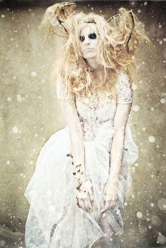winter fae magic, white winter, fae, goth, dark, white muse, winter stori