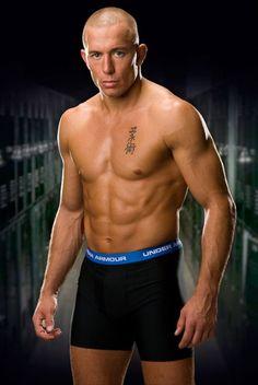 My favorite fighter George St Pierre