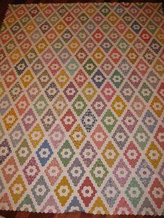 Another hexagon quilt