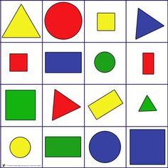 Apprendre les formes et les couleurs - jeu en ligne