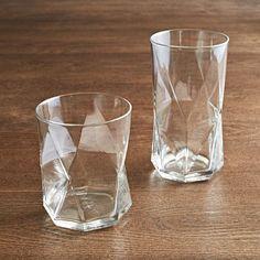 geometric glassware //