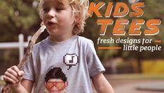 Kids Tees & Clothing - Hipster children optional