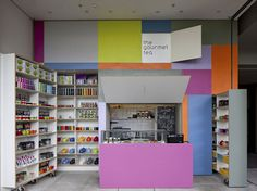 the gourmet tea, pop-out store (after) [great idea for fantasy home storage]