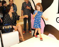 Celebrity moms celebrate Diane von Furstenbergs GapKids launch