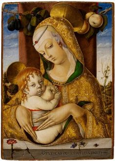 Carlos Crivelli. Virgin & Child. V