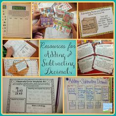 Adding and Subtracting Decimals Activities & Freebies! - Teaching With a Mountain View