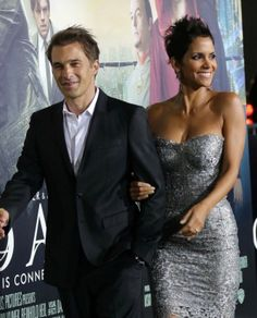 In Halle Berry baby daddy news. PS- Her and Oliver look good together. That dress!