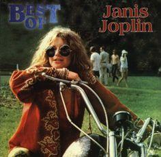 Janis Joplin #women #motorcycles #rebelgirl
