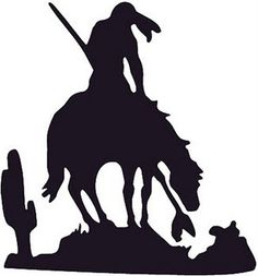 Trail of Tears silhouette