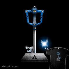 Master Keyblade stuff, nerdi, starwar, legend, geek shirt