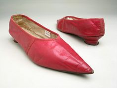 Shoes, 1790-1800. Manchester Art Gallery.