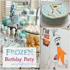 hip2thrift: Disney Frozen Birthday Party