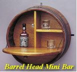 Tons of things you can do with Whiskey barrels!  I'm obsessed