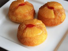 Pineapple Upside-Down Cupcakes  Posted by Lil Miss BossyHere's a twist for turning a crowd-pleasing classic dessert into a fun individual treats!