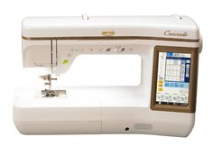 The brand new Crescendo sewing and quilting machine!