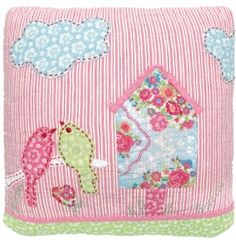 Lovely quilted cushion from GreenGate