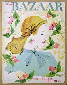 Styling Gardens by Coty Farquhar: Inspiration from the garden, beautiful vintage perfume advertising