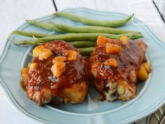 Peachy BBQ Chicken | OAMC from Once A Month Meals | Freezer Meals | Freezer Cooking