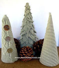 sweterkowe choinki
