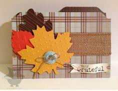 Dani's Thoughtful Corner: Truly Grateful file folder card