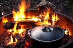 If you love camping and cooking then you must have a dutch oven for your outdoor trips right? Take it in your RV or just on a short road trip & make some of these yummy easy recipes... ;)