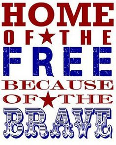 God Bless our Armed Forces