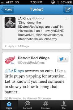hahaha, Red Wings, <3