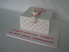 Communion Cake by Irresistible Cakes, via Flickr