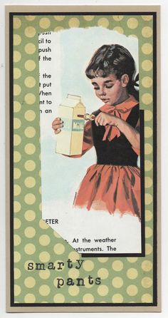 Fun vintage-look cards, handmade!