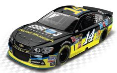 2013 TONY STEWART #14 CODE 3 ASSOCIATES 1/24 ACTION DIECAST