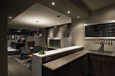 Basement Brewery - contemporary - basement - ottawa - Just Basements