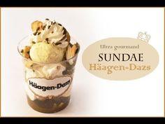 Tutoriel Coupe de glace Häagen-Dazs/ Ice cream sundae häagen-dazs tutorial - YouTube
