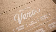White on Kraft | Vera