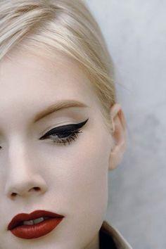 Pretty make-up.