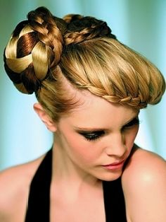 combed hairstyles : Gallery of Cocktail Party Hairstyles Pinterest Picture Ideas With Long ...