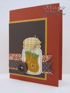 Deesigns by Nina Dee: Pals Paper Arts Color Challenge
